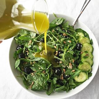 Garlic Hemp Oil Salad Dressing