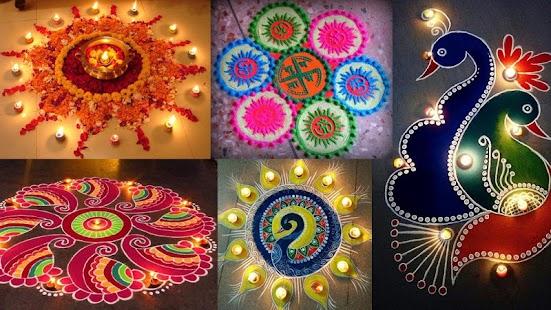 Diwali Rangoli Designs Photo for Free - náhled