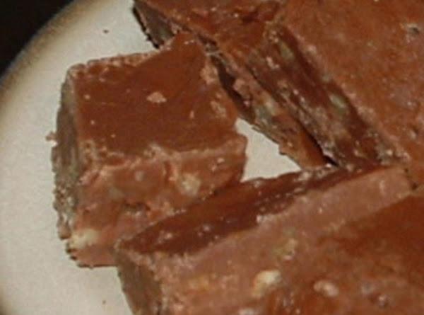 Chocolate Cheese Fudge Recipe