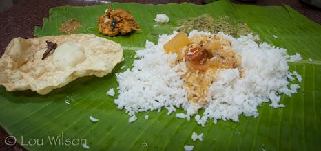 Photo: Thali Vegetarian Triplicane Chennai