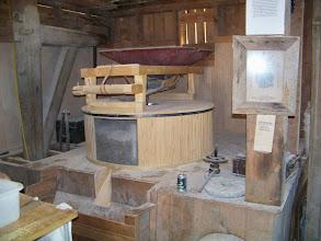 Photo: Traditional Millstone Grain Mill