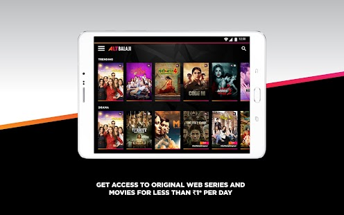 ALTBalaji - Watch Web Series, Originals & Movies Screenshot