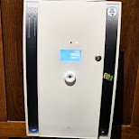 alcohol percentage detector in washrooms of O'Sullivans Grands Boulevards in Paris, Paris - Ile-de-France, France
