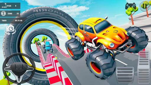 Ramp Car Stunts 3D - GT Racing Stunt Car Games apktram screenshots 1