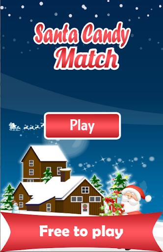Santa Candy Match