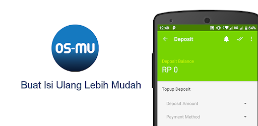 OS-MU gives you convenience in topping up.