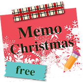 Sticky Memo Notepad *Christmas* Lite