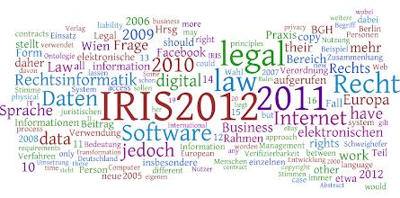Photo: zum Vergleich - Begriffscloud IRIS 2012