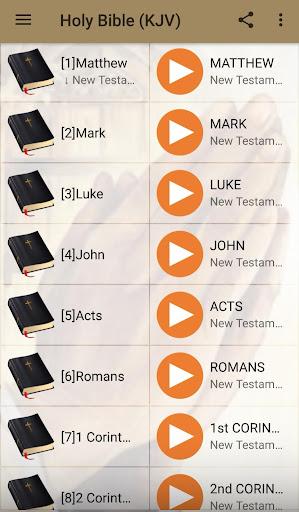 King James Audio - KJV Bible Free 3.6.1 screenshots 7