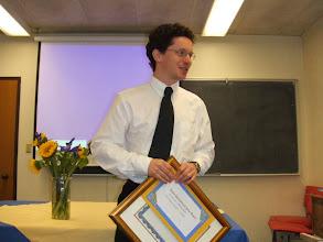 Photo: 2005 Loeve Prize Winner : Wendelin Werner