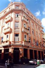 Photo: #019-La Havane-L'hôtel Ambos Mundos où E Hemingway écrivit Pour qui sonne le glas