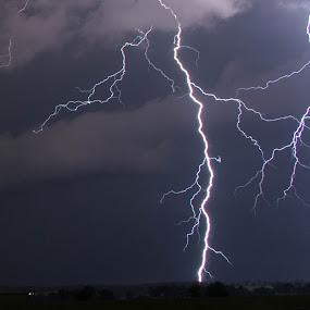 Lightning by Patrick Marsh - Landscapes Weather ( thunder, lightning, night, storm, bolts )
