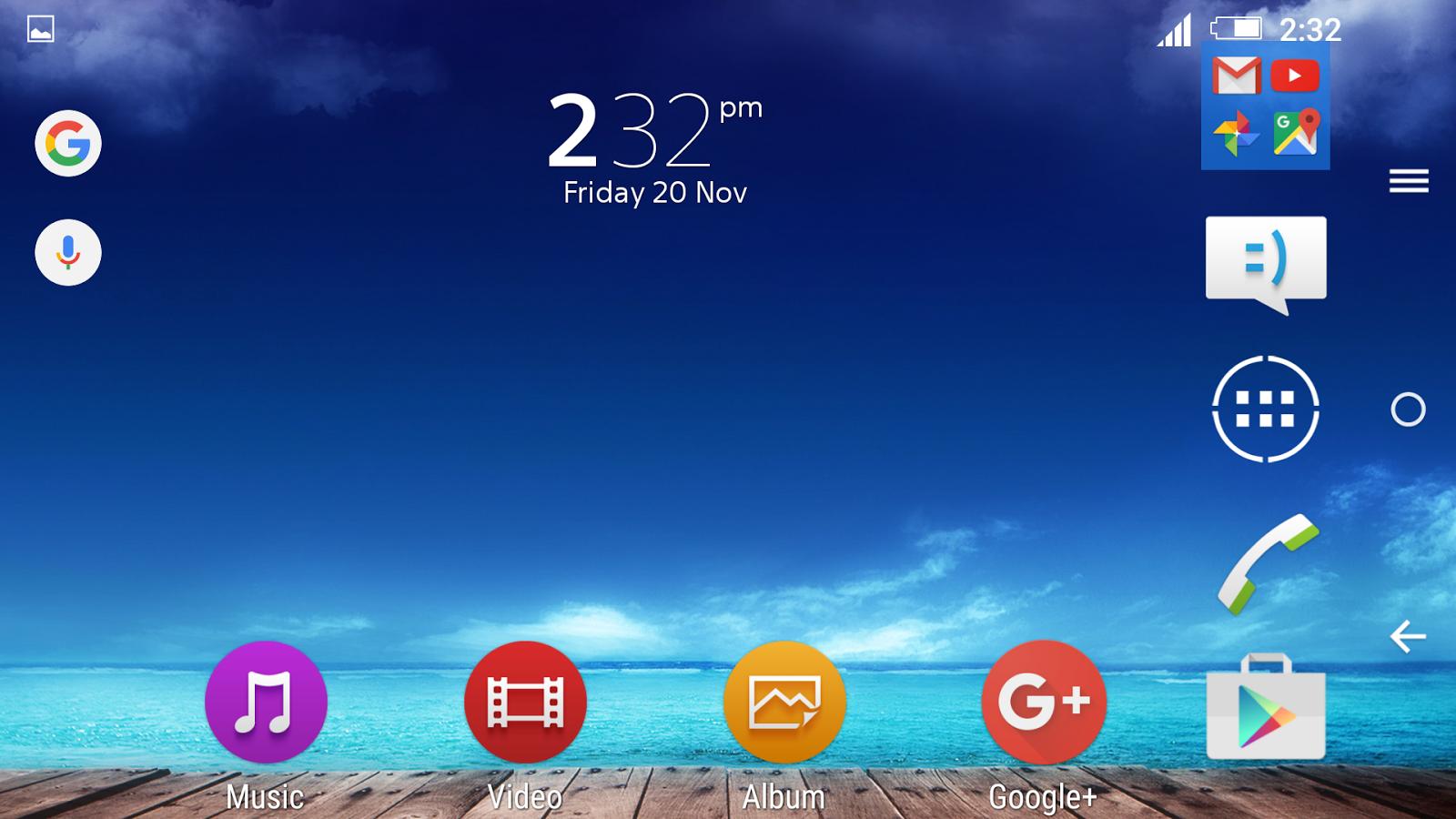 Google play xperia themes - Harbour Xperia Theme Screenshot