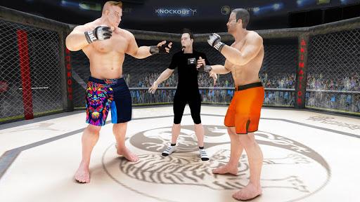 MMA Fighting Revolution: chef d'art martial mixte  captures d'écran 2