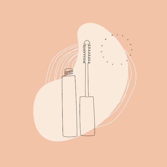 Monoline Mascara - Instagram Post Template