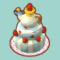 アリスな3だんケーキ