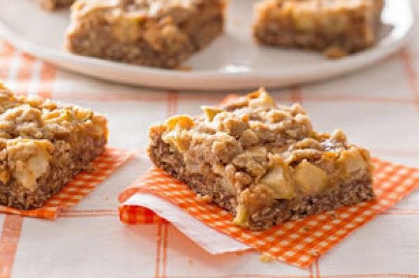 Caramel Apple Crisp Bars Recipe