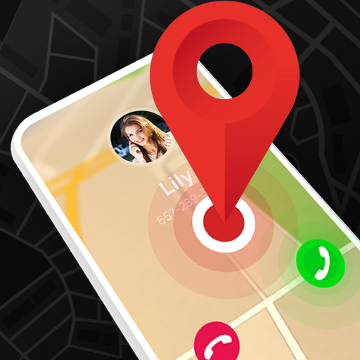 Mobile Number Locator - Phone Caller Location Icon