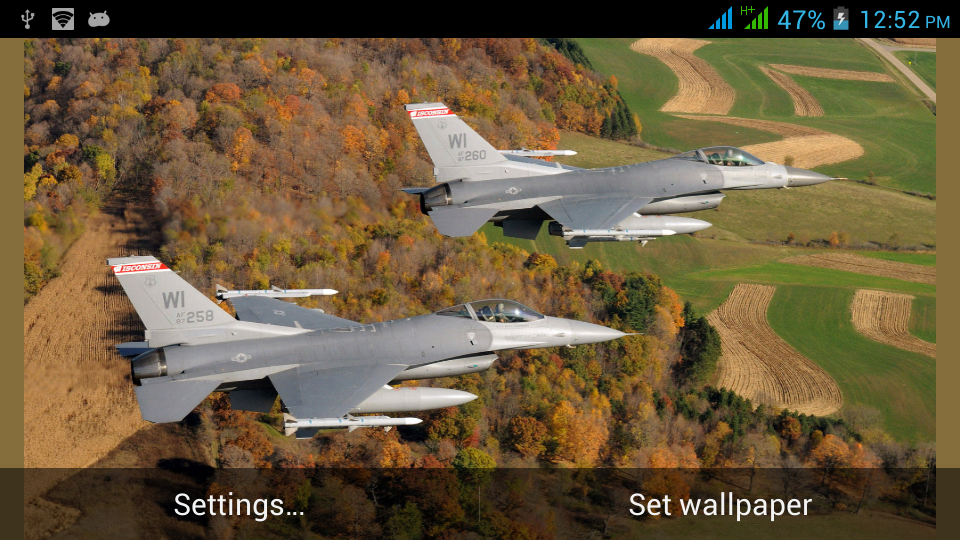 military aircraft live walls android apps on google play