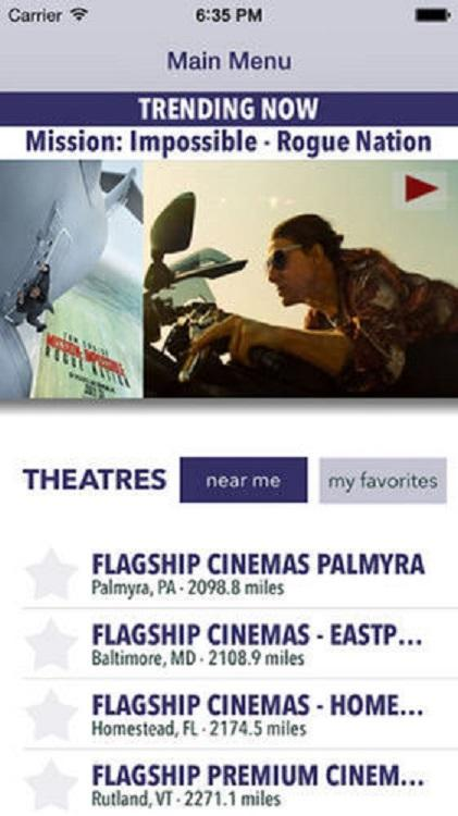FlagShip Cinemas- screenshot