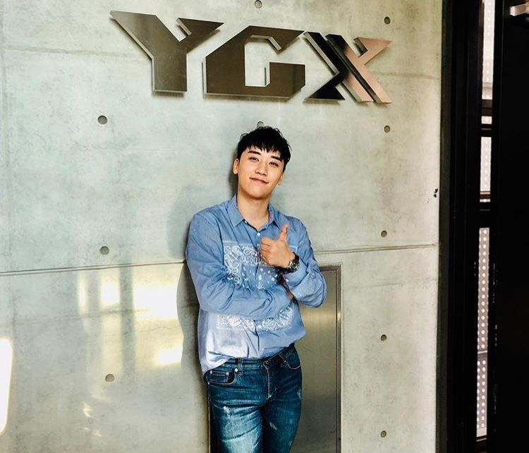 seungri ygx mr bob