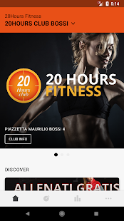20 HOURS FITNESS- miniatura screenshot