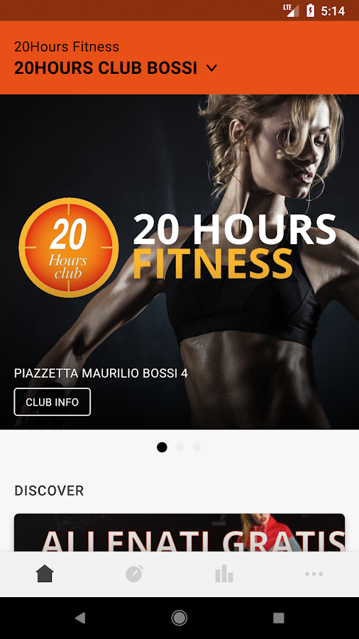 20 HOURS FITNESS- screenshot