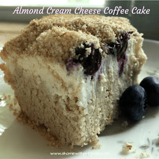 Almond Cream Cheese Coffee Cake (S)