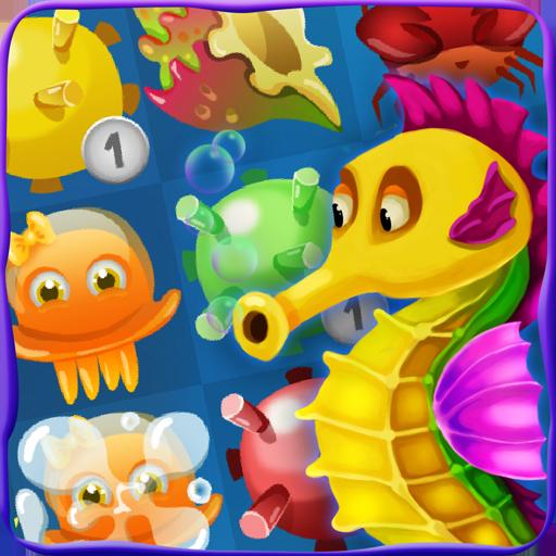 海のマッチ3:海のクエスト 休閒 App LOGO-硬是要APP