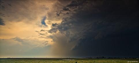 Photo: Washington County Colorado tornado warned cell