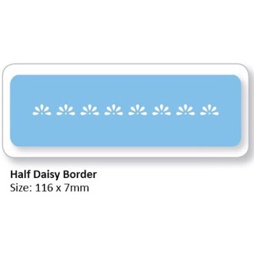 HALF DAISY BORDER