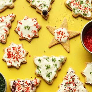 Gluten-Free Sugar Cookies (Vegan).