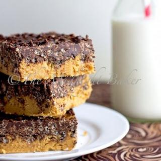 No Bake Peanut Butter Crack Bars