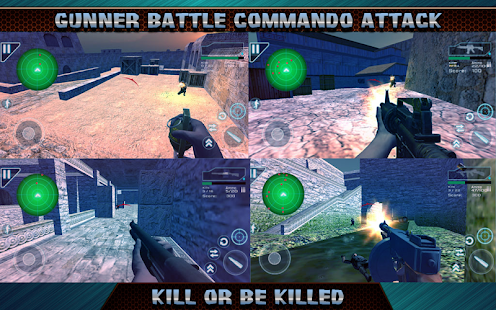 Gunner Battle Commando Attack Screenshot