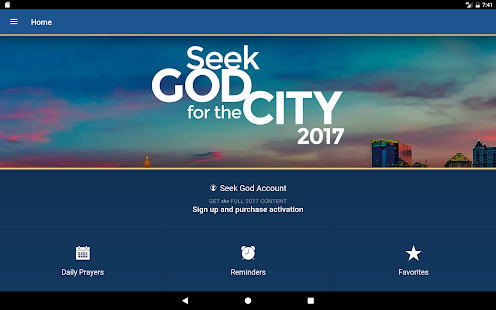 Seek God For The City 2017- screenshot thumbnail
