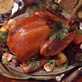 Honey-Brined Turkey with Giblet Cream Gravy