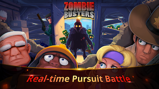 Zombie Busters :  last night in the city- screenshot thumbnail