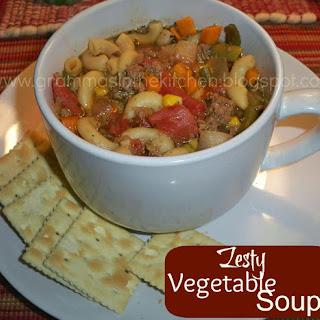 Zesty Vegetable Soup
