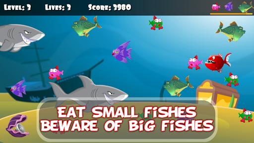 ud83dudc20 Hungry Piranha & Shark Fish screenshots 2