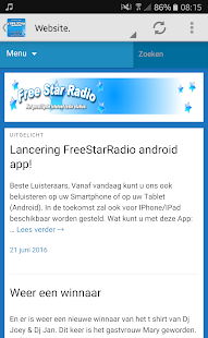 FreeStarRadio App- screenshot thumbnail