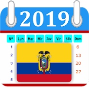 Ecuador 2019 Calendar-Holiday