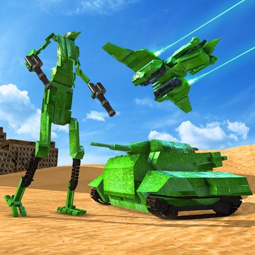 模擬App|タンクロボットトランスフォーマーゲーム LOGO-3C達人阿輝的APP