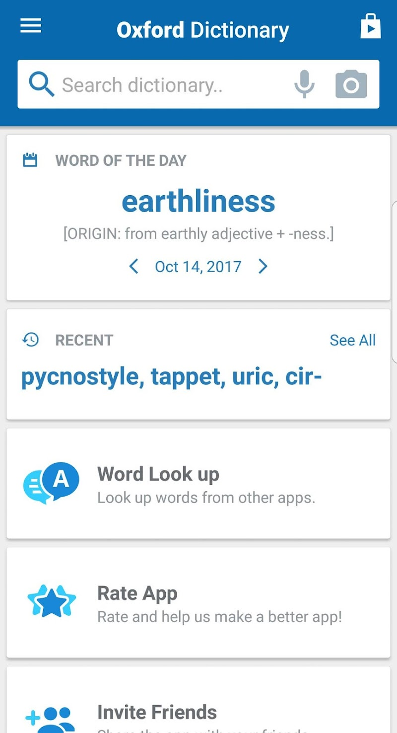 Oxford Shorter English Dictionary Screenshot 6