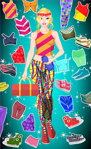 Gym Style - Doll Dress up Games 1.4 screenshots 1