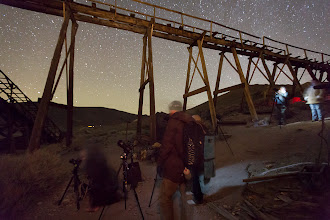 Photo: Night Photography at Bodie's Standard Mill