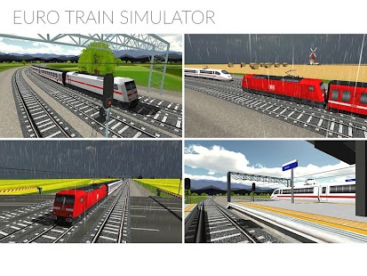 Euro Train Simulator Screenshot