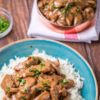 Low Syn Beef Stroganoff | Slimming World.