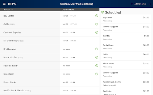 Wilson & Muir Mobile Banking- screenshot thumbnail
