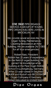 Pipe Organ 24 - Repair Services- screenshot thumbnail