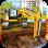 Excavator Dozer & Bucket Simulation Games